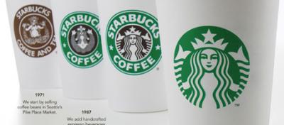 Il nuovo logo di Starbucks