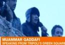L'assedio a Gheddafi