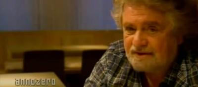 L'intervista di Beppe Grillo ad Annozero