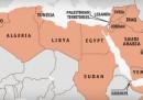 Il malcontento nel Nordafrica in una mappa