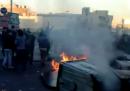 Gli scontri a Teheran