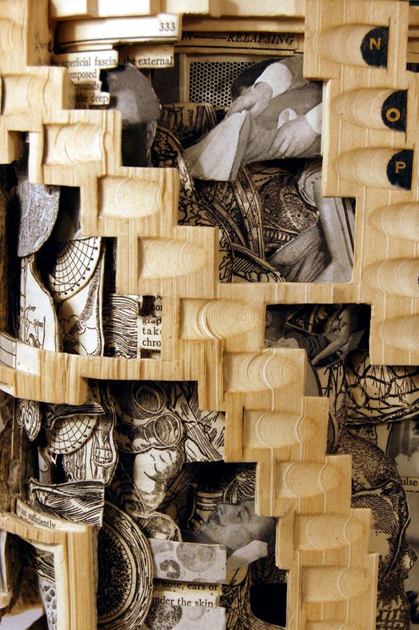 Un artista crea delle bellissime sculture con i libri for Libri ultime uscite