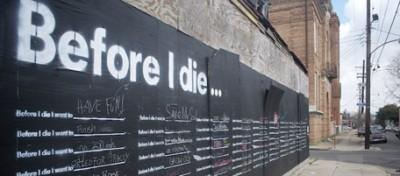 Prima di morire vorrei…