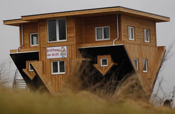 La casa capovolta il post - Casa al contrario ...