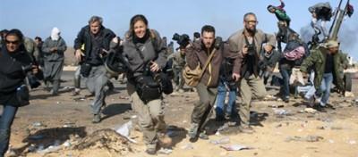 L'ultima foto dei giornalisti del New York Times dispersi in Libia