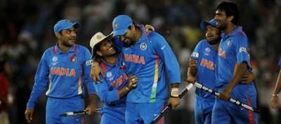L'India ha vinto il match dei match di cricket (foto)
