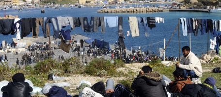 Italy Libya Refugees