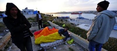 Le foto della vita a Lampedusa
