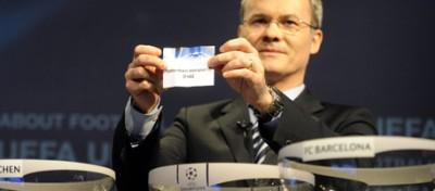 Il sorteggio di Champions League
