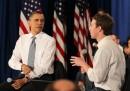 Obama a Facebook (Foto)
