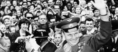 Le foto di Gagarin a Londra