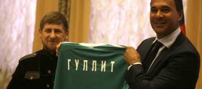 Ruud Gullit in Cecenia