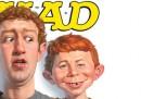 Mark Zuckerberg su Mad Magazine