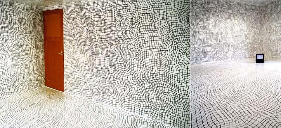 Muri a pennarello il post for Pittura per pavimenti