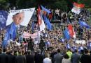 I serbi che difendono Mladic