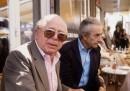 American film director Billy Wilder (L) and Italia