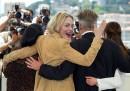 US actress and member of the jury Sharon Stone jok