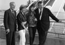 Orson Welles, Daryl Zanuck, Francoise Sagan, Juliette Greco
