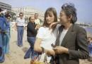 Jane Birkin e Serge Gainsbourg, 1974 (AP Photo/Jean Jacques Levy)