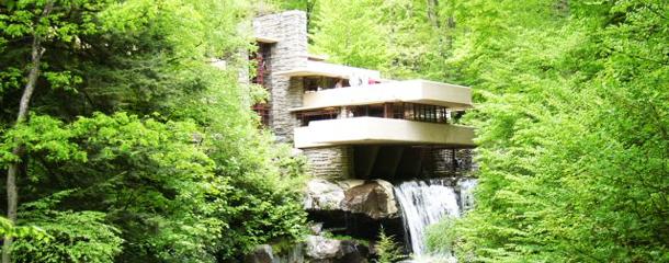 Perch la casa sulla cascata importante il post for Frank lloyd wright piani casa della prateria