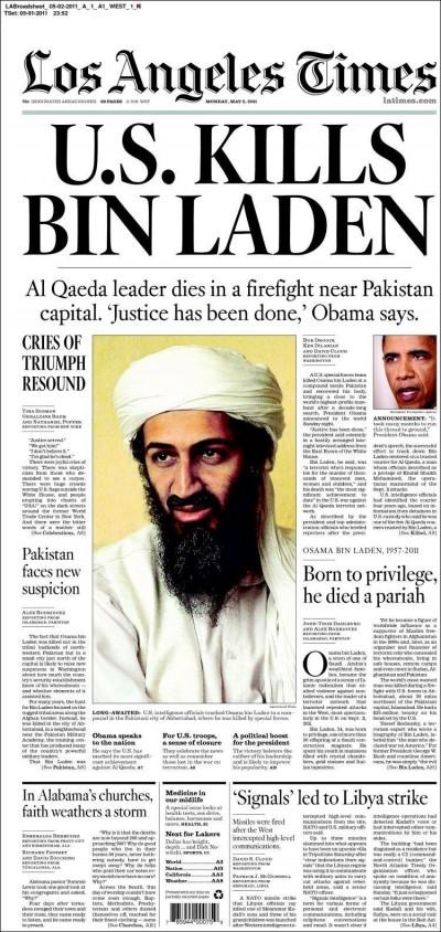 AP vuole le foto di bin Laden morto