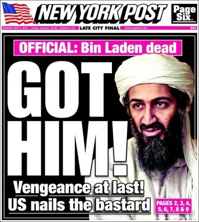 Le prime pagine dei giornali americani