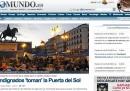 La notte di Puerta del Sol sui siti spagnoli