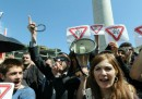 Le proteste in Georgia