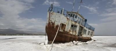 Il lago di Urmia sparisce