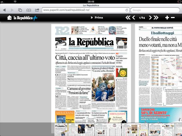 giornali gratis ipad