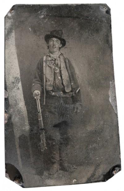 L'unica foto di Billy the Kid, qualche anno fa valeva $ 400.000 (per il Billy vero Garrett ne incassò molti meno).
