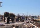 A Joplin anche gli elefanti danno una mano