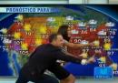 Tom Hanks balla il «mambo del meteo» sul canale in spagnolo Univision