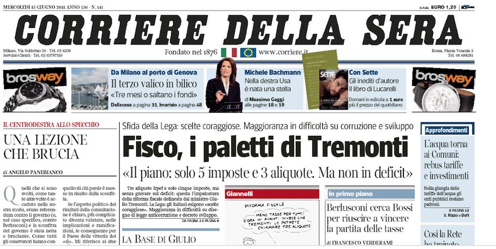 I nuovi font del corriere della sera il post for Corriere della sera arredamento