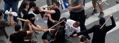 Manifestazioni e scontri in Grecia