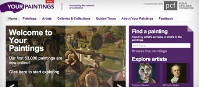Tutti i quadri del Regno Unito online