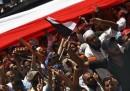 La manifestazione di venerdì in Egitto