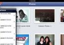Come sarà Facebook per iPad