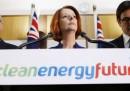L'Australia vuole tassare chi inquina