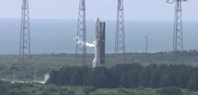 Il lancio di Juno verso Giove, in streaming
