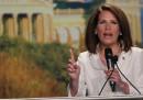 Michele Bachmann vince lo straw poll in Iowa