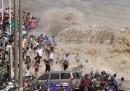 Le onde gigantesche nella baia di Qiantang
