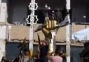 La conquista del rifugio di Gheddafi