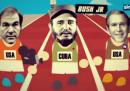 Fidel Marathon: la vita di Castro in 100 secondi