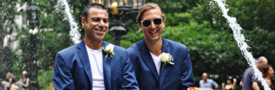 Le coppie gay sposate a New York