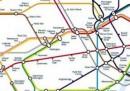 La nuova mappa della metropolitana di Londra