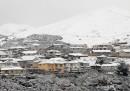 Le foto della neve in Nuova Zelanda
