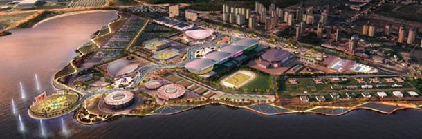Il parco olimpico