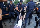 La polizia ha sgomberato Puerta del Sol