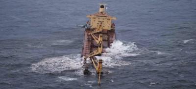 Il petrolio sulle spiagge di Mumbai